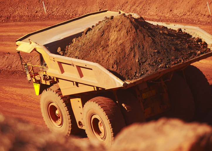 Iron ore gains as BHP output strong